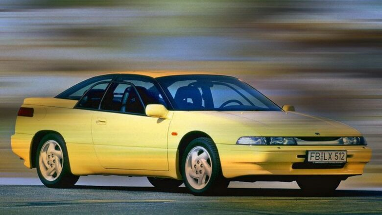 Rare treat: Subaru SVX coupe
