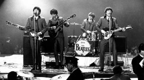 Beatles belted it out in mono